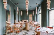Color-Clashing Restaurant Interiors