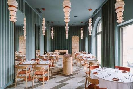 Color-Clashing Restaurant Interiors