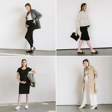 Essential Maternity Style Bundles - The Storq Maternity Capsule Includes Four Wardrobe Basics