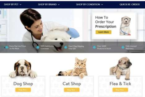 In-Store Pet Pharmacies - Walmart Opens a Range of Convenience-Focused Veterinary Clinic Locations