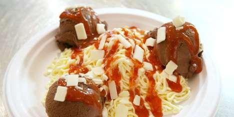 Deceptive Dessert Spaghetti Dinners