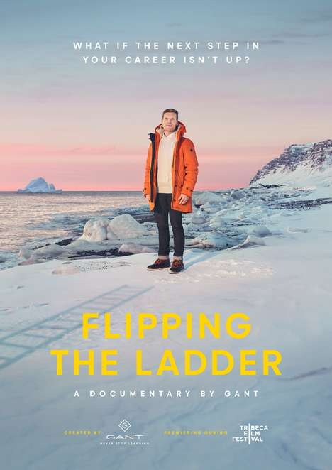 Fashion-Branded Film Releases - GANT's 'Flipping the Ladder' is About Changing Career Paths
