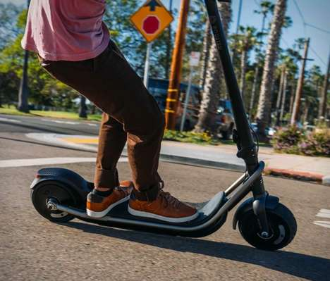 Speedy Acceleration Commuter Scooters