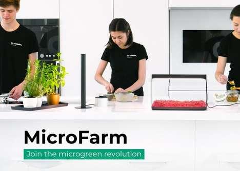 Microgreens Gardening Systems