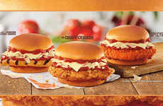 Hefty Chicken Parmesan Sandwiches