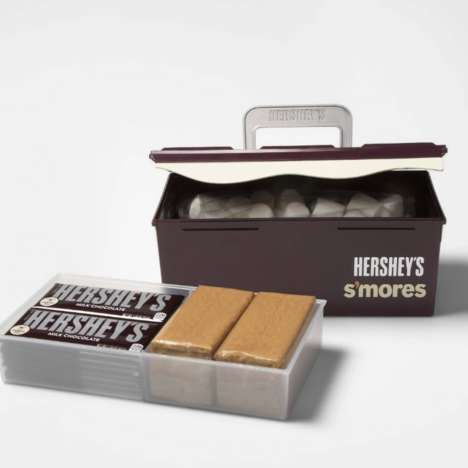 S'mores Supplies-Filled Toolboxes