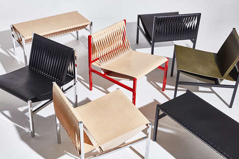 Fashion-Forward Furniture Collabs - Dion Lee and DesignByThem Boast a Striking Seating Collection