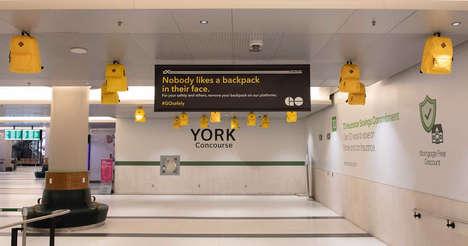Vibrant Transit Safety Ads