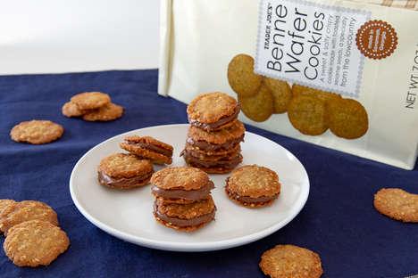 Sesame Seed Wafer Cookies