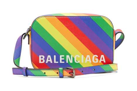 Pride-Celebrating Designer Purses - Balenciaga's Rainbow Bag Celebrates Pride Month 2019