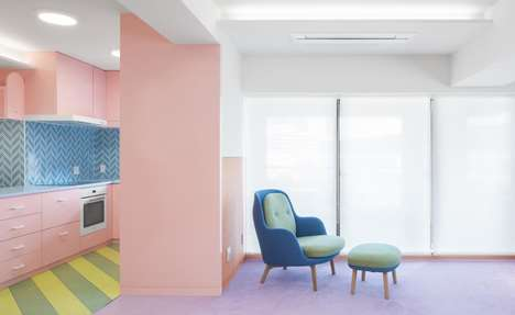 Bubble Gum-Inspired Apartments