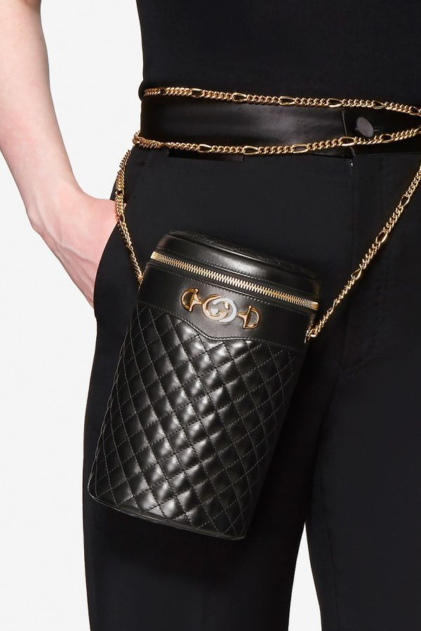 Cylindrical Leather Purses - Gucci's Summer Release Boasts a Chain-Like Strap Gucci's Summer Release