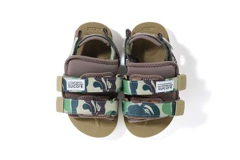 Camo-Graphic Chunky Sandals