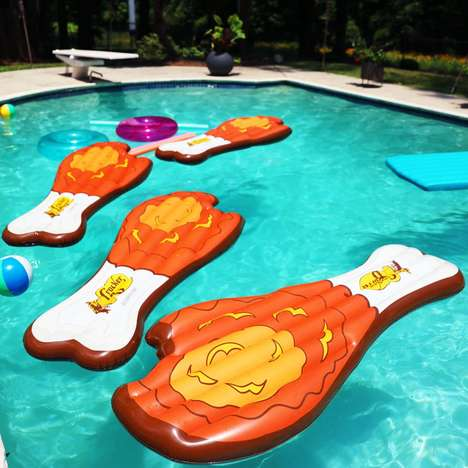 Fried Chicken Pool Floats