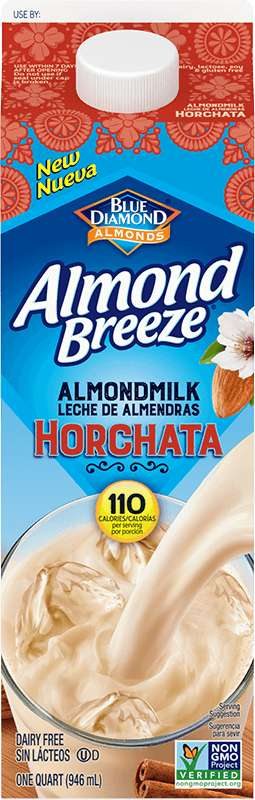 Nut-Based Horchata Beverages - Blue Diamond's Almondmilk Horchata is Free from Dairy