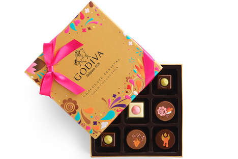 Festival-Inspired Chocolate Collections - The Chocolate Festival Collection Celebrates Passion