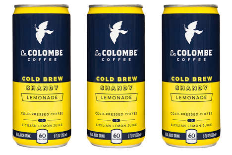 Cold Brew Shandy Beverages - La Colombe Coffee Roasters' New Creation Combines Citrus Juice & Coffee