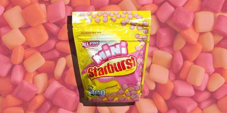 Exclusive All-Pink Candies
