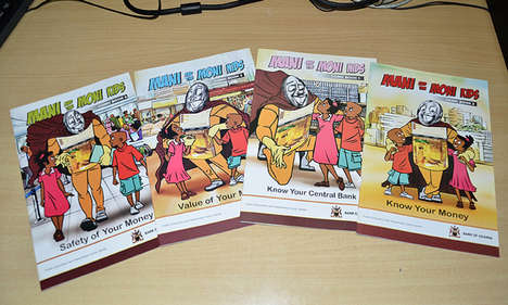 Financial Literacy Comic Books - Central Bank's 'Mani and the Mini Kids' are Educational Comics