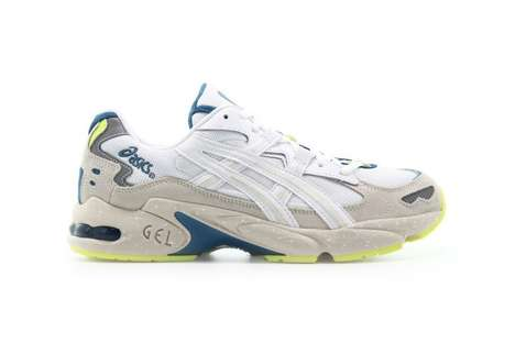 Retro Florescent Tonal Sneakers