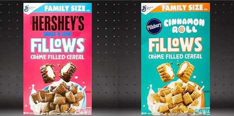 Cinnamon Roll-Filled Cereals