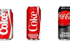 Nostalgic Cola Revivals - Coca-Cola is Bringing Back New Coke in Honor of 'Stranger Things' Season 3