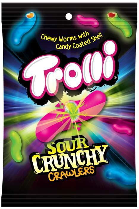 Sour Crunchy Candies