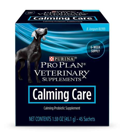 Calming Probiotic Dog Supplements - The Calming Care Probiotic Supplement for Dogs Reduces Anxiety
