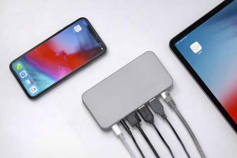 External Smartphone Port Hubs