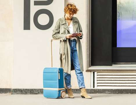 Expandable Smart Suitcases