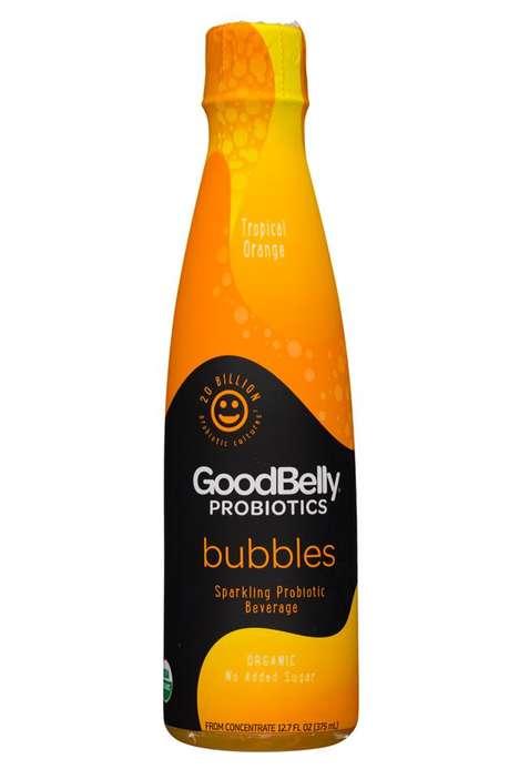 Bubbly Probiotic Beverages