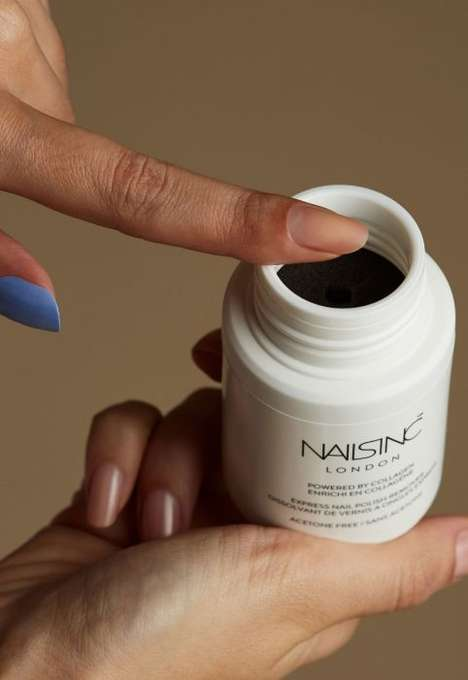 Collagen-Powered Nail Polish Removers