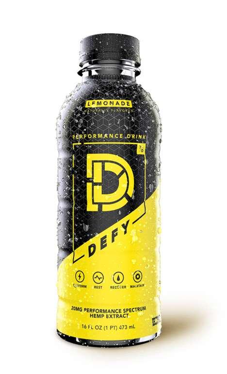CBD-Enhanced Performance Drinks