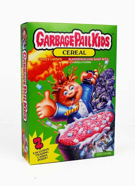 Trading Card-Themed Cereals