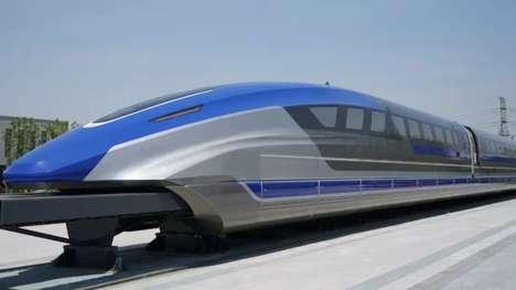 Hyper-Fast Maglev Trains
