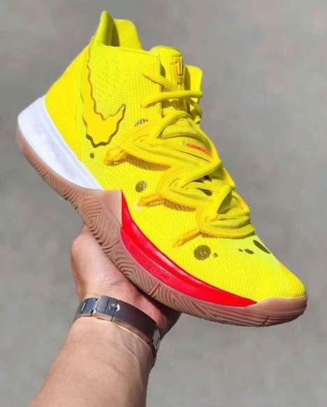 Cartoon-Themed Basketball Shoes