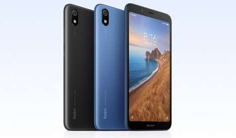 Low-Cost Quick-Charge Smartphones - The Redmi 7A is Powered by a Qualcomm Snapdragon 439 Processor