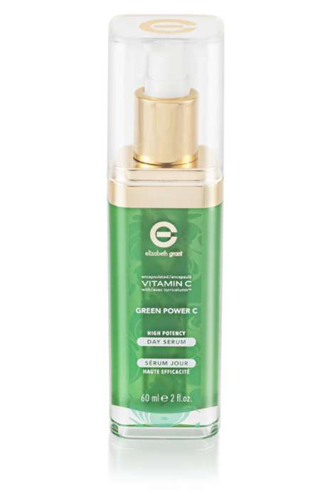 Green Ingredient Skincare Lines - The Green Power C Collection Boasts Three Key Ingredients