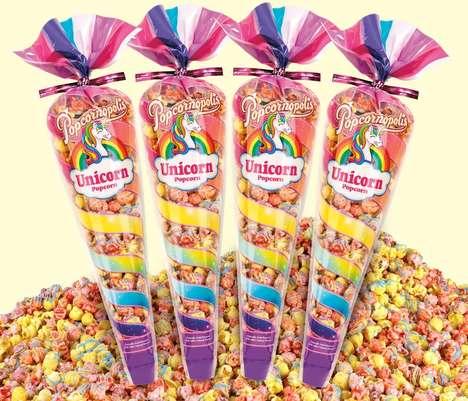 Unicorn Popcorn Snacks