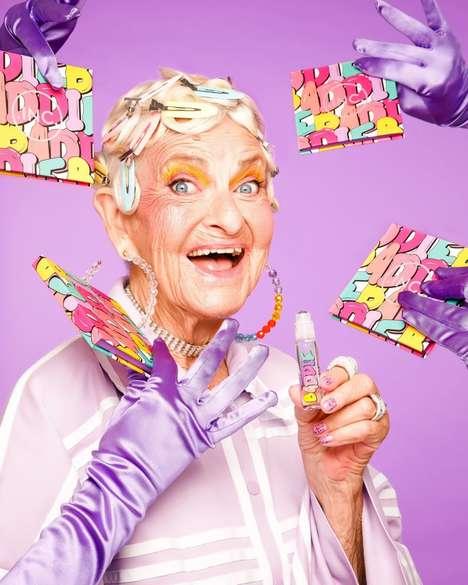 Elderly Influencer Cosmetics