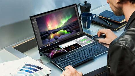 Double Screen Laptop Designs