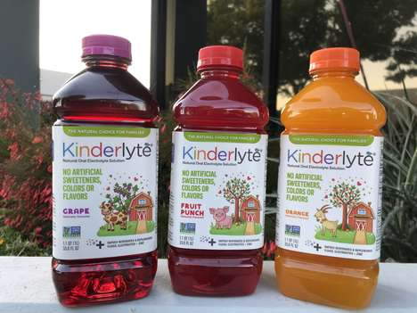 Kid-Friendly Rehydration Drinks