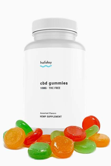 Stress-Alleviating CBD Candies