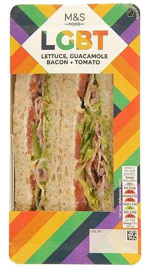 Pride-Celebrating Sandwiches
