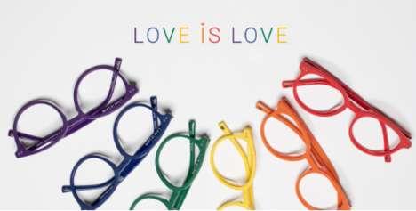 Pride-Themed Glasses