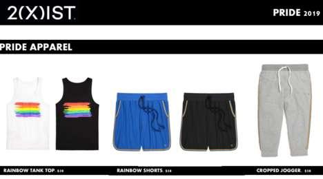 Vibrant Rainbow-Themed Apparel
