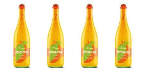 Ready-to-Drink Mango Mimosas