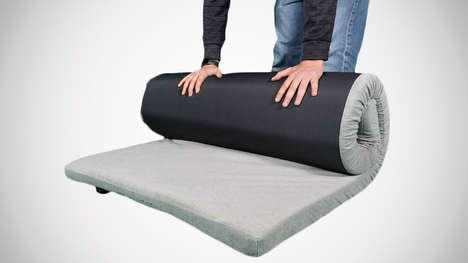 Supportive Roll-Up Mattresses