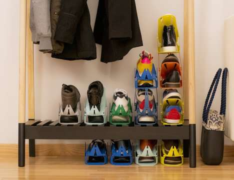 Shoe-Stacking Storage Solutions