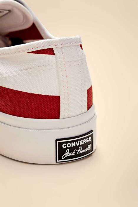 Patriotic Themed Zippered Sneakers